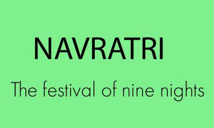 Navratri: The festival of nine nights