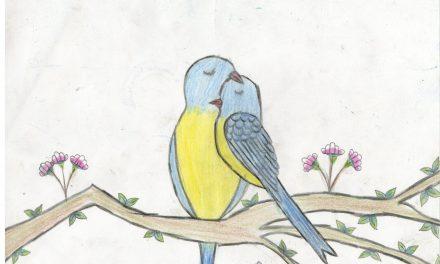 A couple of love birds