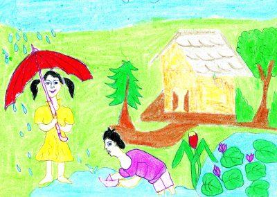 Jaleshwari Khalkho, Std VII, The Progress High School, Panaji